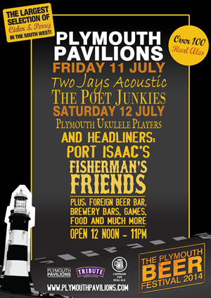 Plymouth Beer Festival Poster