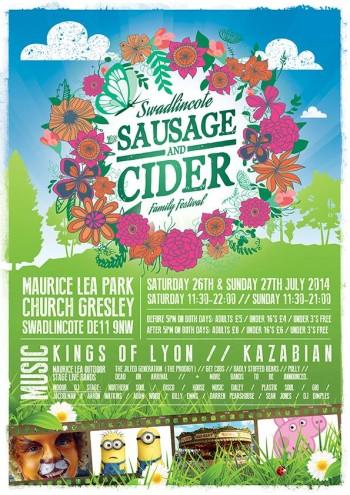 Swadlincote Sausage & Cider Family Festival