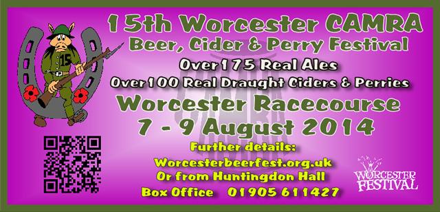 Worcester Beer, Cider & Perry Festival