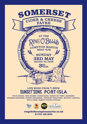 Ring O Bells Somerset Cider & Cheese Fayre 2015
