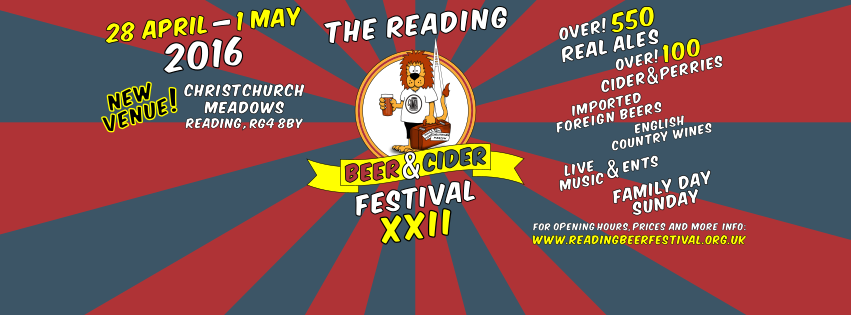 Reading Beer & Cider Festival 2016 info